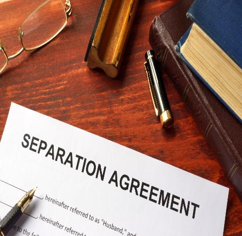 separation agreement in massachusetts